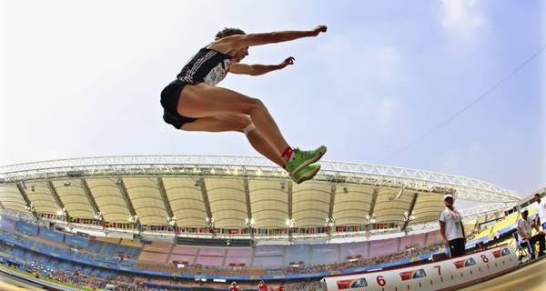 Salto in lungo: equilibrio e velocità!